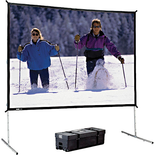 "Da-Lite 99795 Heavy Duty Fast-Fold Deluxe Projection Screen (11'6"" x 19'8"")"