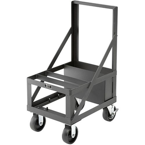 Da-Lite Base Plate Cart, Model BPC46 (Black Powder Coat)