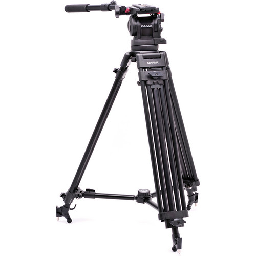 Daiwa / Slik DST-103 Broadcast Tripod with Fluid Video Head