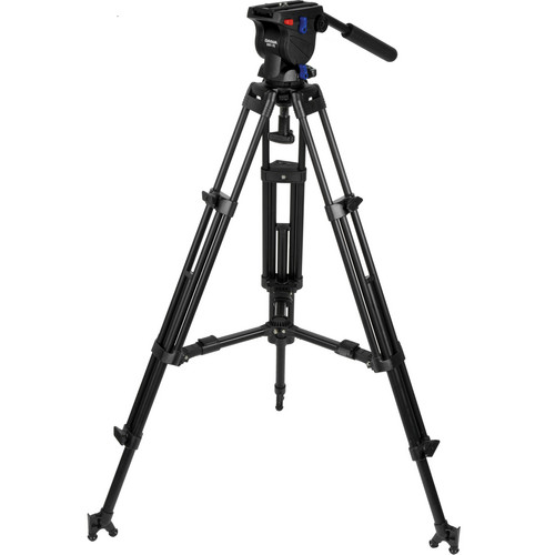 Daiwa / Slik DST-73 Broadcast Tripod with Fluid Video Head