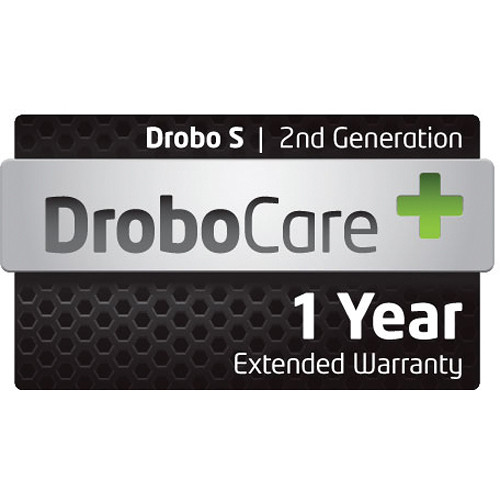Drobo 1 Year DroboCare Extended Warranty for Drobo S 2nd Generation