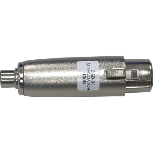Datavideo CAD-01 XLR to RCA Attenuator