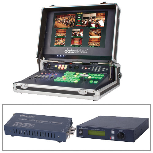 Datavideo Distance Learning Kit, with HS-2000, DAC-50 & AD-100