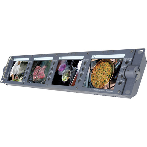 "Datavideo TLM-404H 4 x 4"" TFT LCD Monitor Bank"