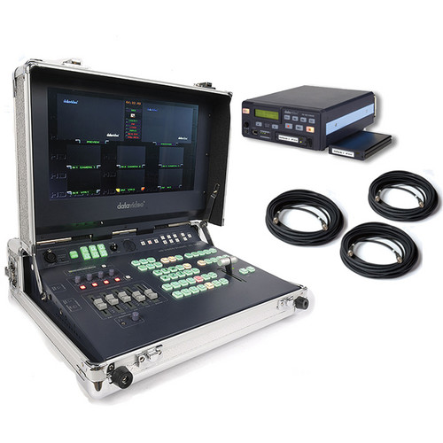 Datavideo HS-2000 Mobile Studio Travel Kit with 320GB Drive