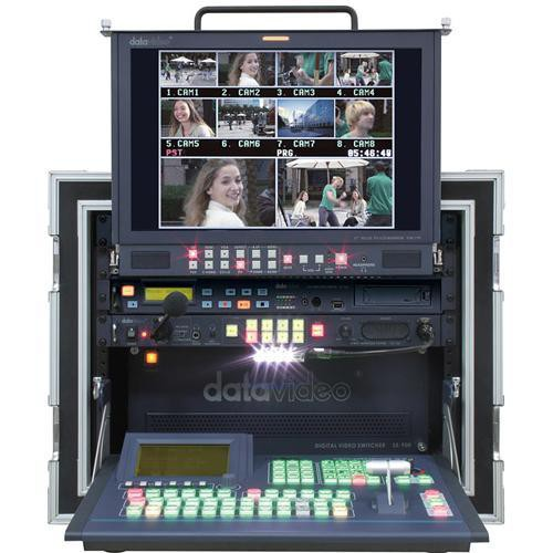 Datavideo MS-900 Mobile Studio with 6 DV and 2 YUV/C/S Input Cards