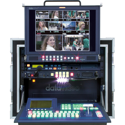 Datavideo MS-900 Mobile Studio with 8 YUV/CV/S Input Cards