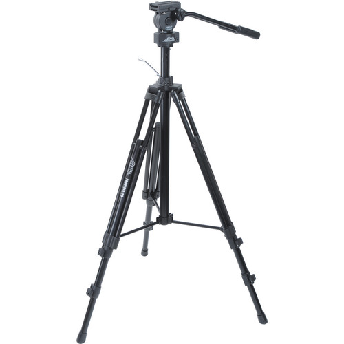 Davis & Sanford Provista Video Tripod, FM18 Fluid Head & W3 Universal Dolly Kit
