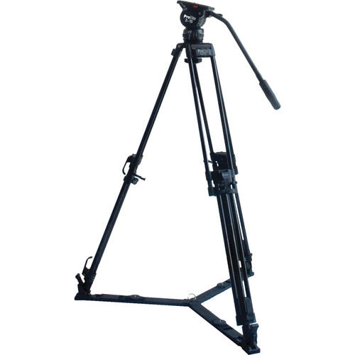 Davis & Sanford ProElite 75mm 2-in-1 Video Tripod With 5-15 Fluid Head