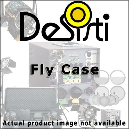 DeSisti Fly Case - for 5 Lens Set for the DeSisti Remington 6-12kw HMI Par Light