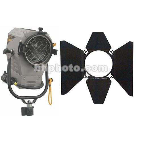 DeSisti 1200W Rembrandt Piccolo Mk2 HMI Fresnel, Cable, Barndoors