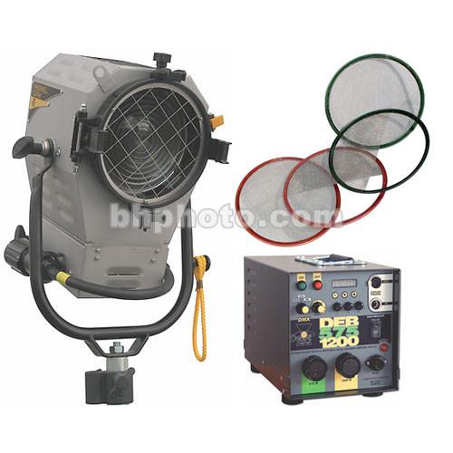 DeSisti Rembrandt 1200 Watt HMI Fresnel Kit, Bulb  (90-265V)