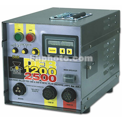 DeSisti 6/12KW Electronic Ballast for Rembrandt Piccolo (95-265V)