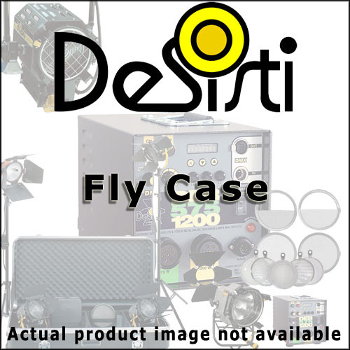 DeSisti 2560.601 Fly Case Rembrandt 12-18kW without Ballast