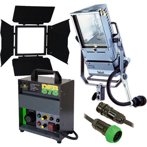 DeSisti Goya 575 Watt HMI Broadlight Kit, Case (95-265VAC)