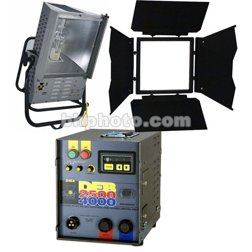 DeSisti Goya 2.5/4KW HMI Broadlight Case Kit (90-265V)
