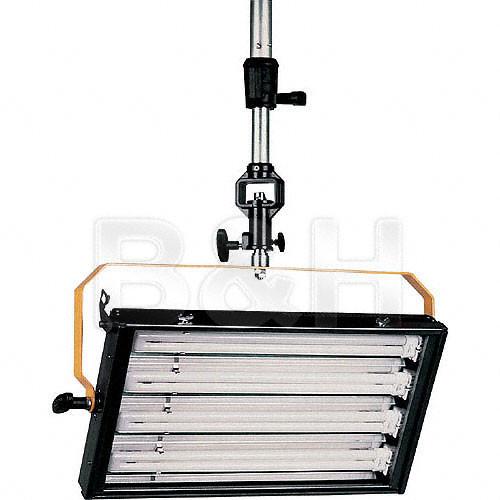DeSisti De-Lux 4 Tube Dimmable Fluorescent Fixture - DMX - Hanging, Manual Control
