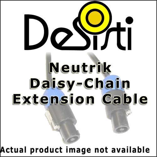 DeSisti DMX Daisy Chain Cable for CST Series Fixtures - 10' (3m)