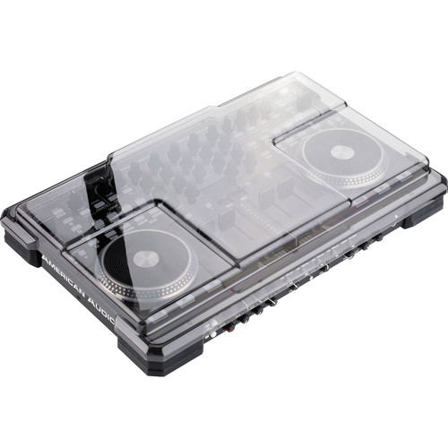 Decksaver American DJ VMS4 Smoked Clear Cover