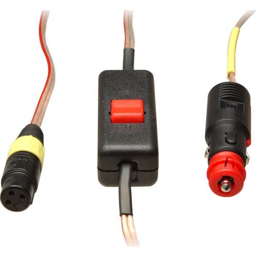 Dedolight Cigarette Lighter Cable for DLH3, 4