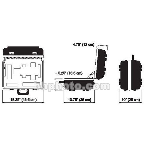 Dedolight DCDP400 Heavy Duty Transport Case