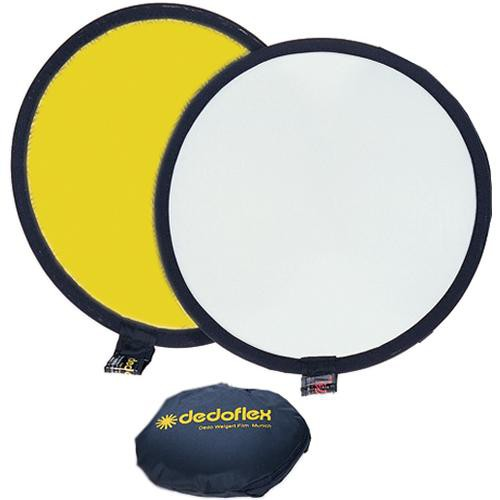 "Dedolight 12"" Gold/White Reflector"