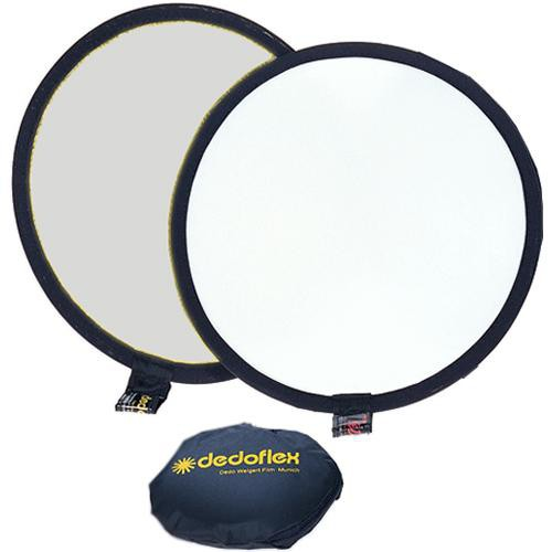"Dedolight 12"" Silver/White Reflector"