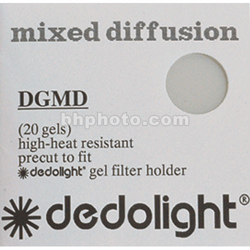 Dedolight 20 Mixed Diffusion Gel Filters for DBD400