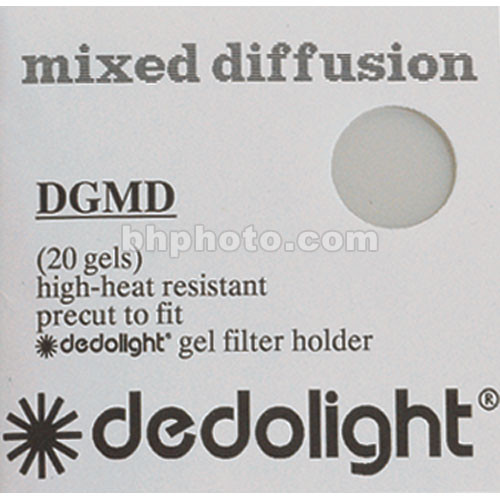 Dedolight 20 Mixed Diffusion Gel Filters for DBD8