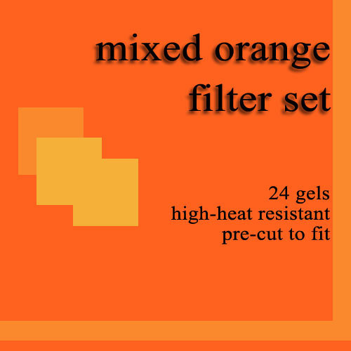 Dedolight 24 Mixed Orange Gel Filters for DBD8