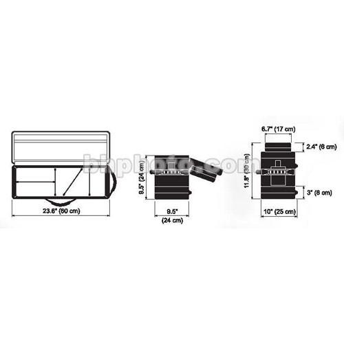 Dedolight DSC1-200 Soft Case