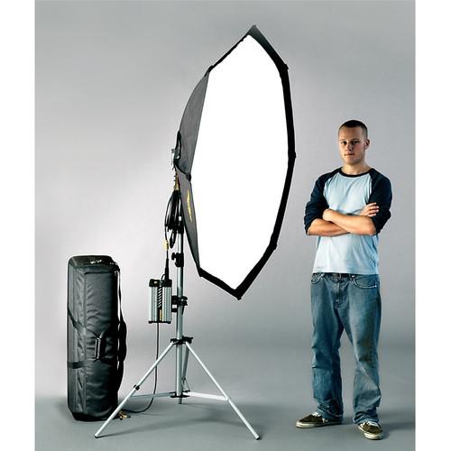 Dedolight 400W HMI Soft Light Kit with Case (90-260 VAC)