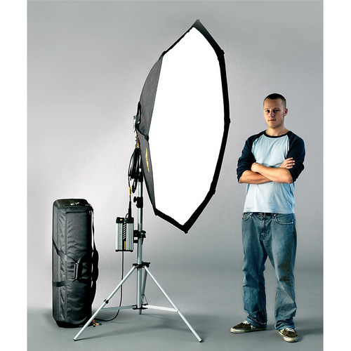 Dedolight 400W HMI Soft Light Kit, Case (90-260V)