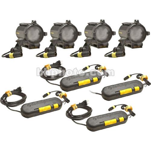 Dedolight Master 4 Light Kit (123V)