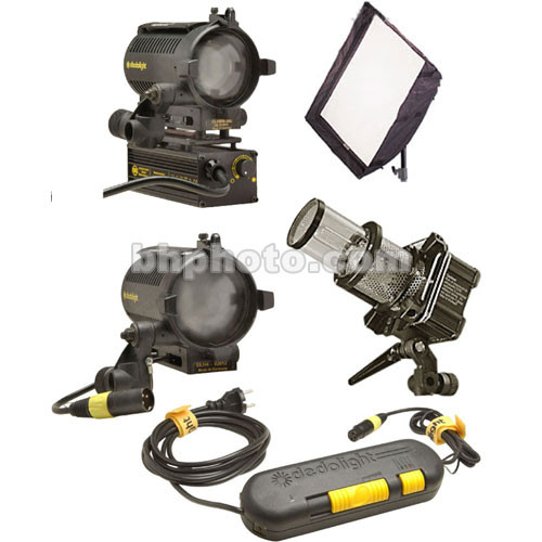Dedolight Basic Compact 3-Light Kit