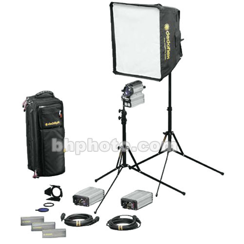 Dedolight Sundance HMI 2 Light Soft Case Kit  (90-260V)