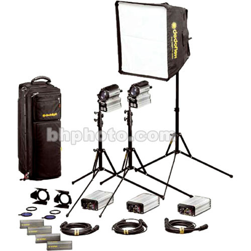 Dedolight Sundance HMI 3 Light Soft Case Kit  (90-260V)