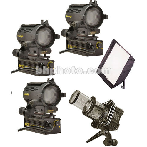Dedolight Standard Hustler 4-Light Kit