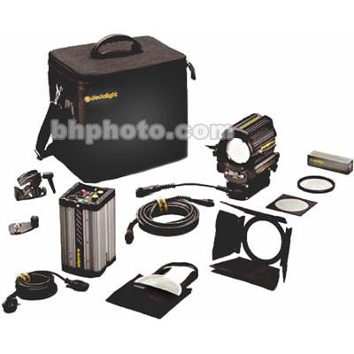 Dedolight DLH400D Standard HMI 1 Light Kit, Soft Case (90-260V)
