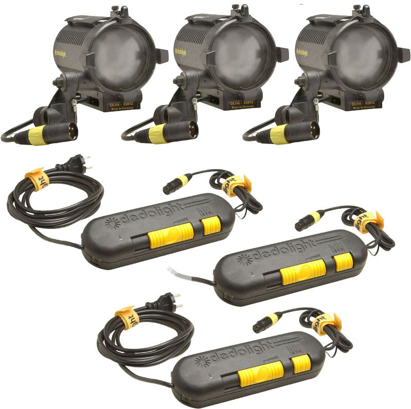 Dedolight Basic Explorer 3-Light Kit