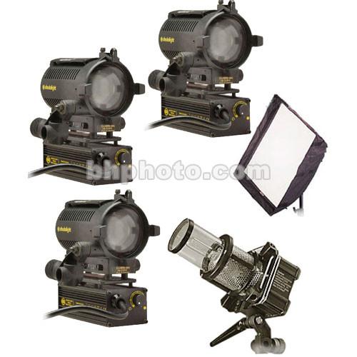 Dedolight Basic Interviewer 4-Light Kit