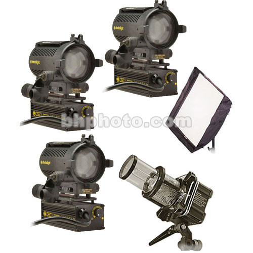 Dedolight Master Interviewer 4-Light Kit