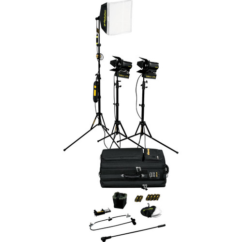 Dedolight SPS3U 3-Light Portable Lighting Kit (120V)