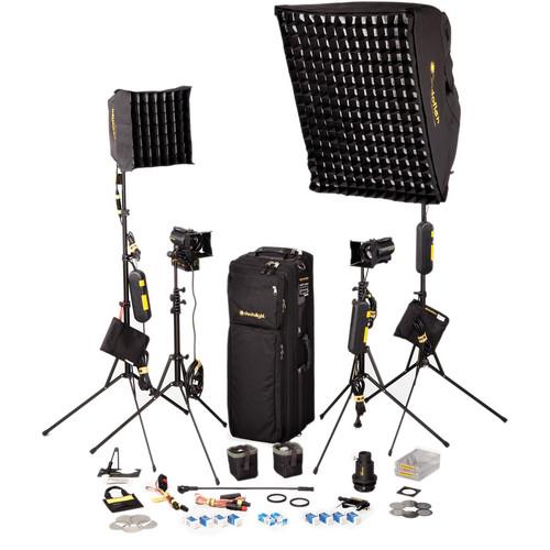 Dedolight SPS4U 4-Light Portable Kit (120V)