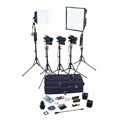 Dedolight Portable Studio 5-Light Tungsten Kit