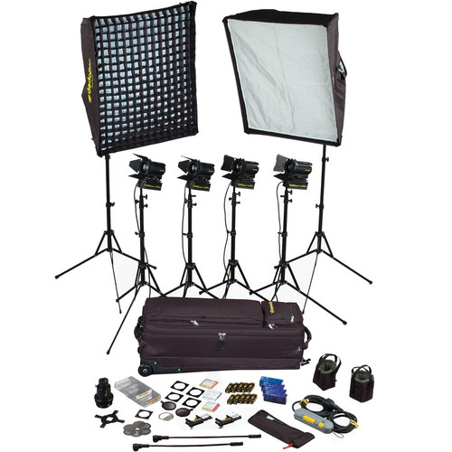 Dedolight SPS6U 6-Light Portable Kit (120V)