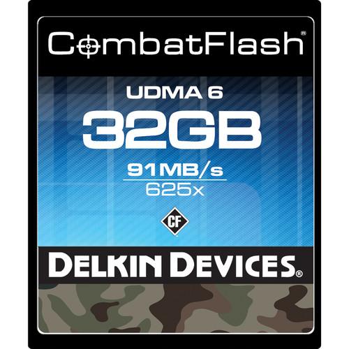 Delkin Devices 32GB CombatFlash UDMA CompactFlash Card