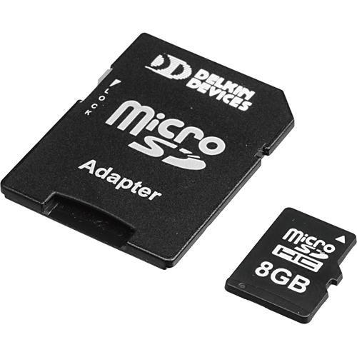 Delkin Devices 8GB microSD Card