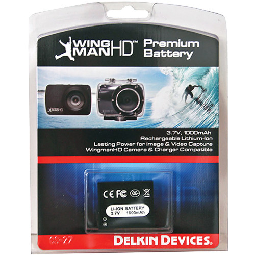 Delkin Devices WingmanHD Premium Rechargeable Battery