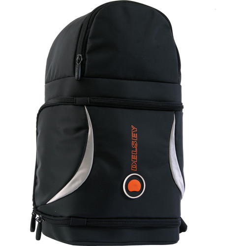 Delsey Rondo 72 Back Pack (Black/Silver)